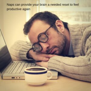 Studio tip 1: Naps can provide your brain with a needed reset to feel productive again