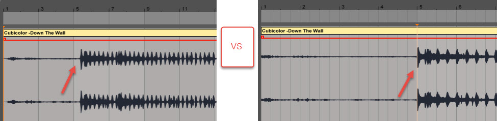 Deconstructing a reference track in Ableton, Step 2: Correcting Beat Grid
