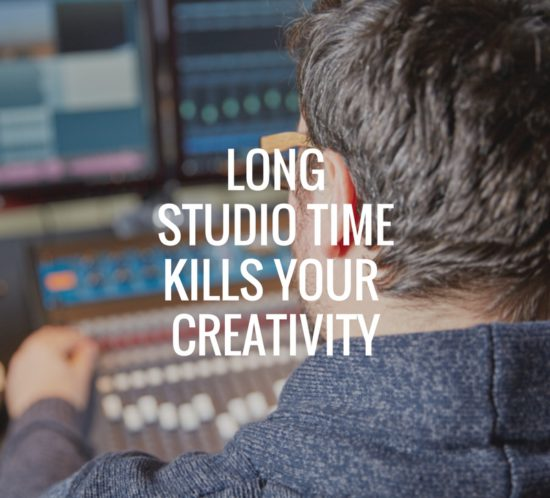long hours in the studio kill your creativity