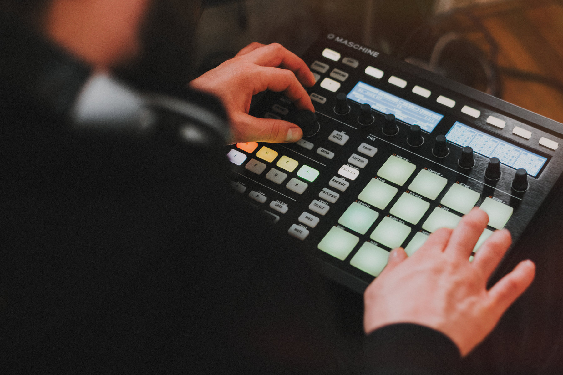 Making beats with Maschine MKII