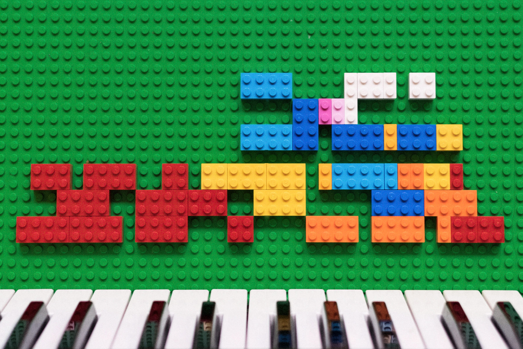 Song structures like Lego blocks