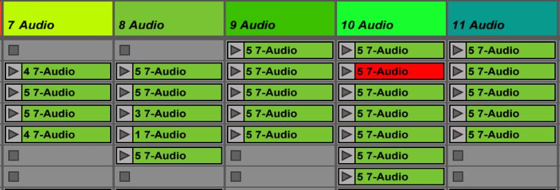 session view, arrangements, ableton