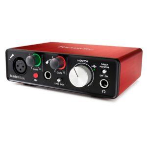 Picture of Focusrite Scarlett-Solo Gen2 USB Audio Interface
