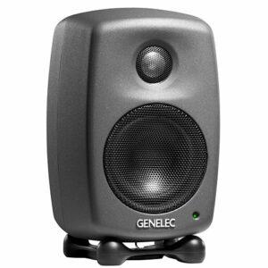 Genelec studio electronic monitor photo