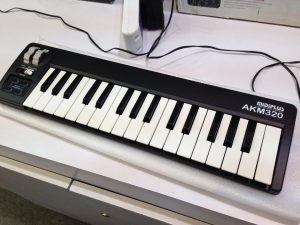 A pic of the MIDIPLUS. An inexpensive piece of electronic music gear for your studio.
