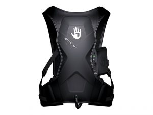 Picture of the Subpac, an excellent studio electronic piece of gear.