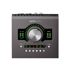 A picture of the Apollo Twin, which can be used to make studio electronic music