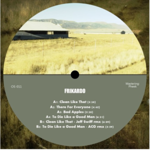 OS011 – Frikardo – Remixes by Jeff Swiff and ACG – Previews